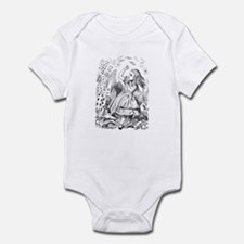 Alice and Cards Infant Bodysuit