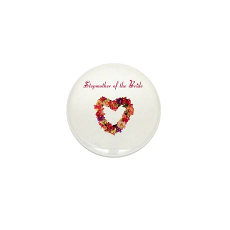 Stepmother of the Bride Mini Button