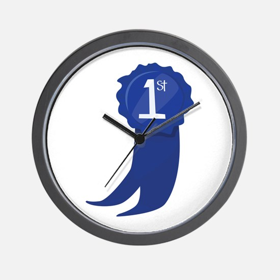 1st Place Wall Clock