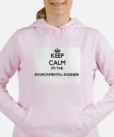 Keep calm I'm the Enviro Women's Hooded Sweatshirt