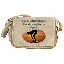 CHRISTIAN SWIMMER Messenger Bag