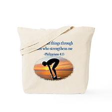 CHRISTIAN SWIMMER Tote Bag