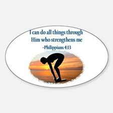 CHRISTIAN SWIMMER Decal