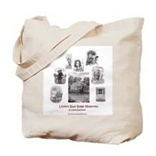 Lizzie's Blue Ridge Memories -- Collage Tote Bag