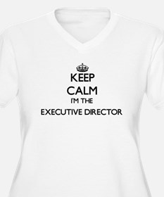Keep calm I'm the Executive Dire Plus Size T-Shirt