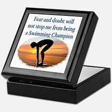SWIMMER DREAMS Keepsake Box