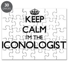 Keep calm I'm the Iconologist Puzzle