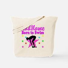 SWIMMER DREAMS Tote Bag