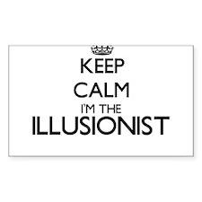 Keep calm I'm the Illusionist Decal
