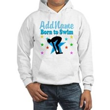 1ST PLACE SWIMMER Hoodie