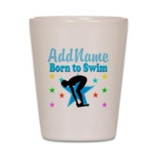 1ST PLACE SWIMMER Shot Glass