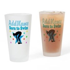 1ST PLACE SWIMMER Drinking Glass
