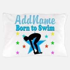 1ST PLACE SWIMMER Pillow Case
