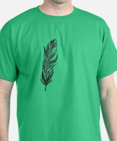 single feather T-Shirt