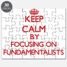Keep Calm by focusing on Fundamentalists Puzzle