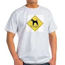 Smooth Fox Terrier crossing T-Shirt