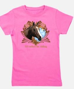 Unique Horse sports Girl's Tee