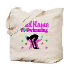 LOVE SWIMMING Tote Bag