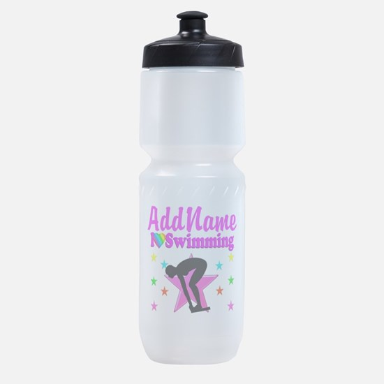 LOVE SWIMMING Sports Bottle