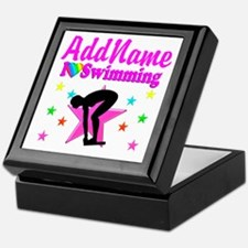 LOVE SWIMMING Keepsake Box
