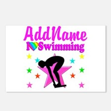 LOVE SWIMMING Postcards (Package of 8)