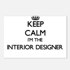 Keep calm I'm the Interio Postcards (Package of 8)