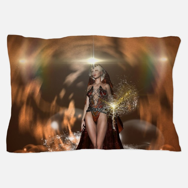 The reign of the water goes over the sea Pillow Ca