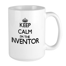 Keep calm I'm the Inventor Mugs