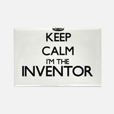 Keep calm I'm the Inventor Magnets