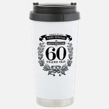 60th birthday vintage design Travel Mug