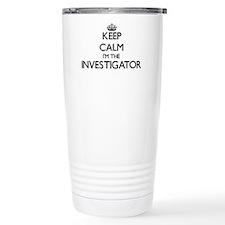 Keep calm I'm the Inves Thermos Mug