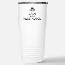 Keep calm I'm the Inves Travel Mug