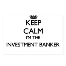Keep calm I'm the Investm Postcards (Package of 8)