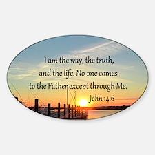 JOHN 14:6 Decal