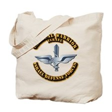 Israel - Caracal Warrior With Text Tote Bag