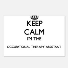 Keep calm I'm the Occupat Postcards (Package of 8)