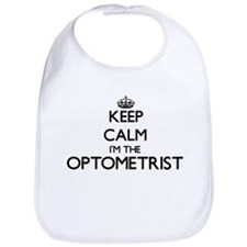 Keep calm I'm the Optometrist Bib