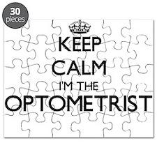Keep calm I'm the Optometrist Puzzle