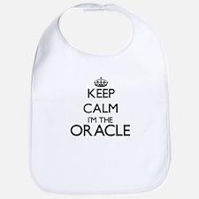 Keep calm I'm the Oracle Bib