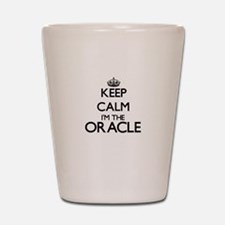 Keep calm I'm the Oracle Shot Glass