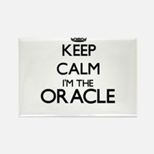 Keep calm I'm the Oracle Magnets