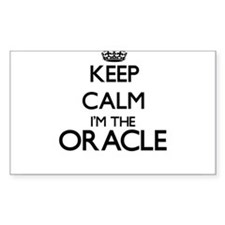 Keep calm I'm the Oracle Decal
