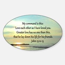 JOHN 15:12 Decal