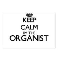 Keep calm I'm the Organis Postcards (Package of 8)