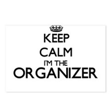 Keep calm I'm the Organiz Postcards (Package of 8)