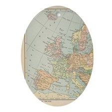 Europe - Oval Ornament