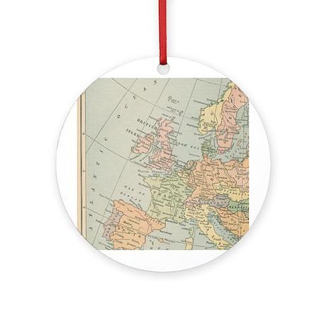 Europe - Ornament (Round)