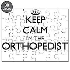 Keep calm I'm the Orthopedist Puzzle