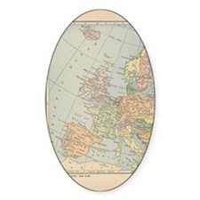 Europe - Oval Decal