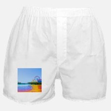 Funky Pixels Pier Boxer Shorts
